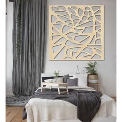Faragott kép a falon fából készült rétegelt lemezből készült HORLATF