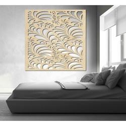 Cioplit imagine pe perete din placaj din lemn  floare LLUPENE