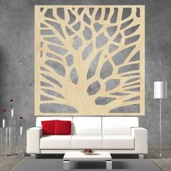 Imagine sculptată pe peretele copacului de placaj din lemn ORECH