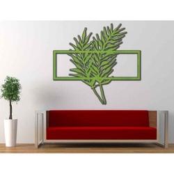 imagine pe perete din tabla silueta placaj din lemn PPAPRAADE