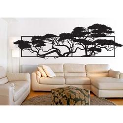 Elegancko rzeźbione obraz sklejki w projekcie drzew POMPEZII 3D