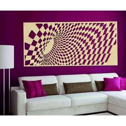 Poză gustoasă pe peretele placajului din lemn ULETT