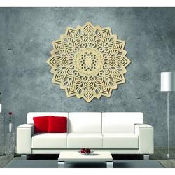 Magic imagine pe perete din mandala de placaj din lemn